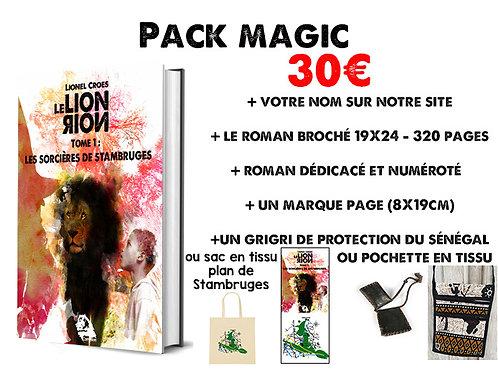 """Roman """"Le Lion Noir: Les Sorcières de Stambruges"""" - Pack 2"""