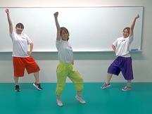 キッズダンス!音楽にノッて楽しく踊ろう ビートキッズ(小学校低学年向け)事前学習動画
