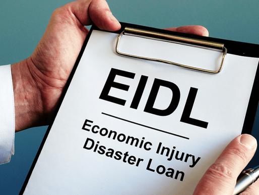 EIDL Loans Receive New Funding through Dec 31, 2021