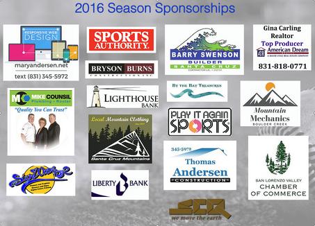 Thank you Season Sponsors!