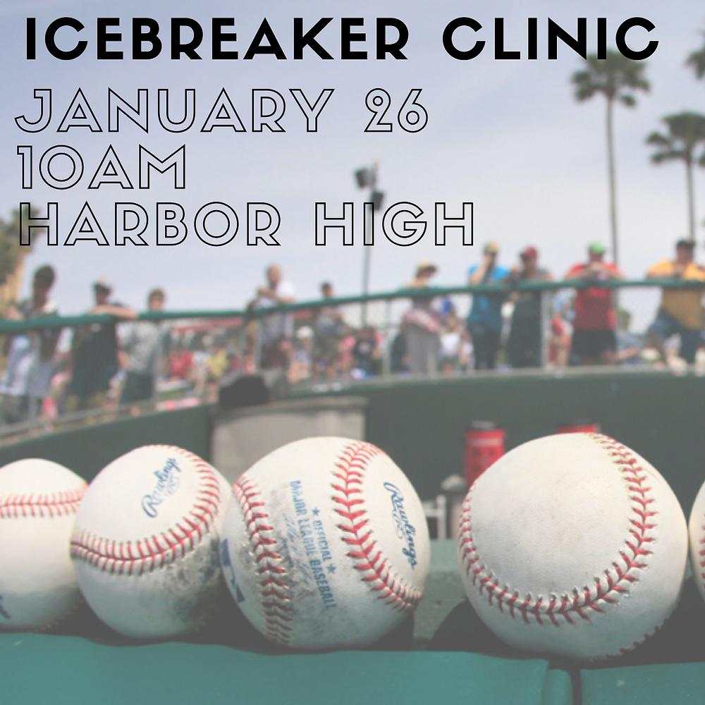 Santa Cruz Pony Baseball Ice Breaker Clinic January 26 2020 baseball season