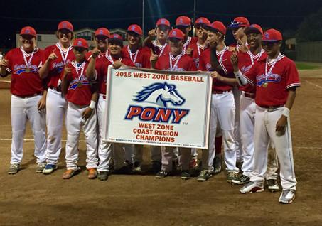 Santa Cruz Pony 14s West Zone Coast Super Region Champs!