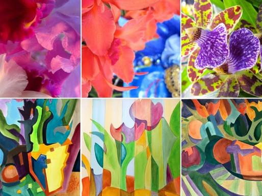 Abstract Expressions Exhibit at Santa Cruz Mountains Art Center
