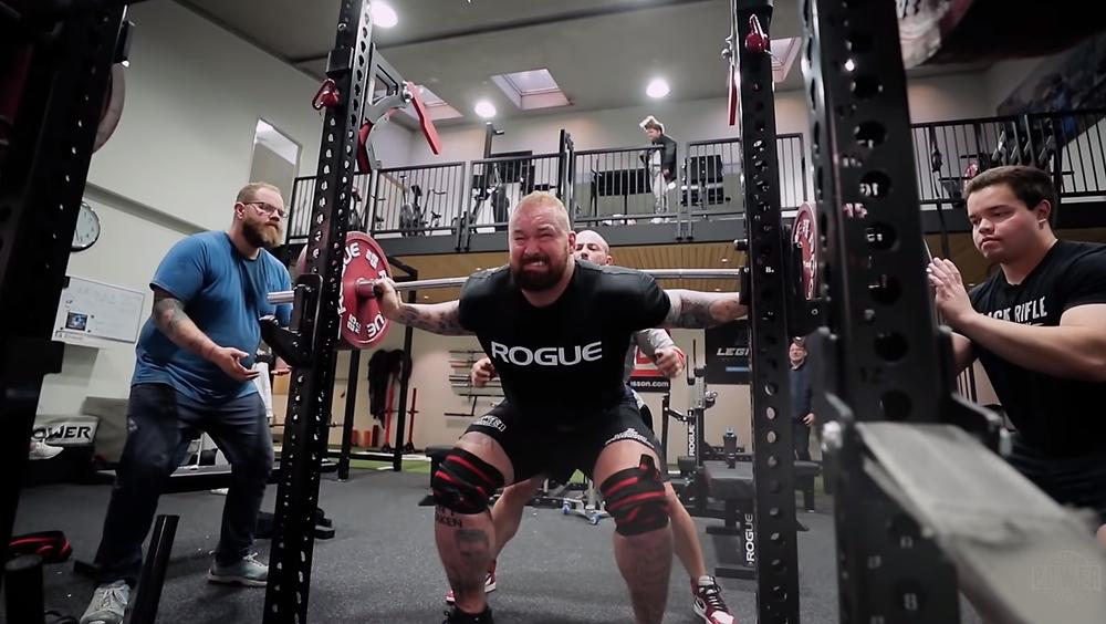 Hafþór júlíus björnssons Powerlifting Gym In Iceland