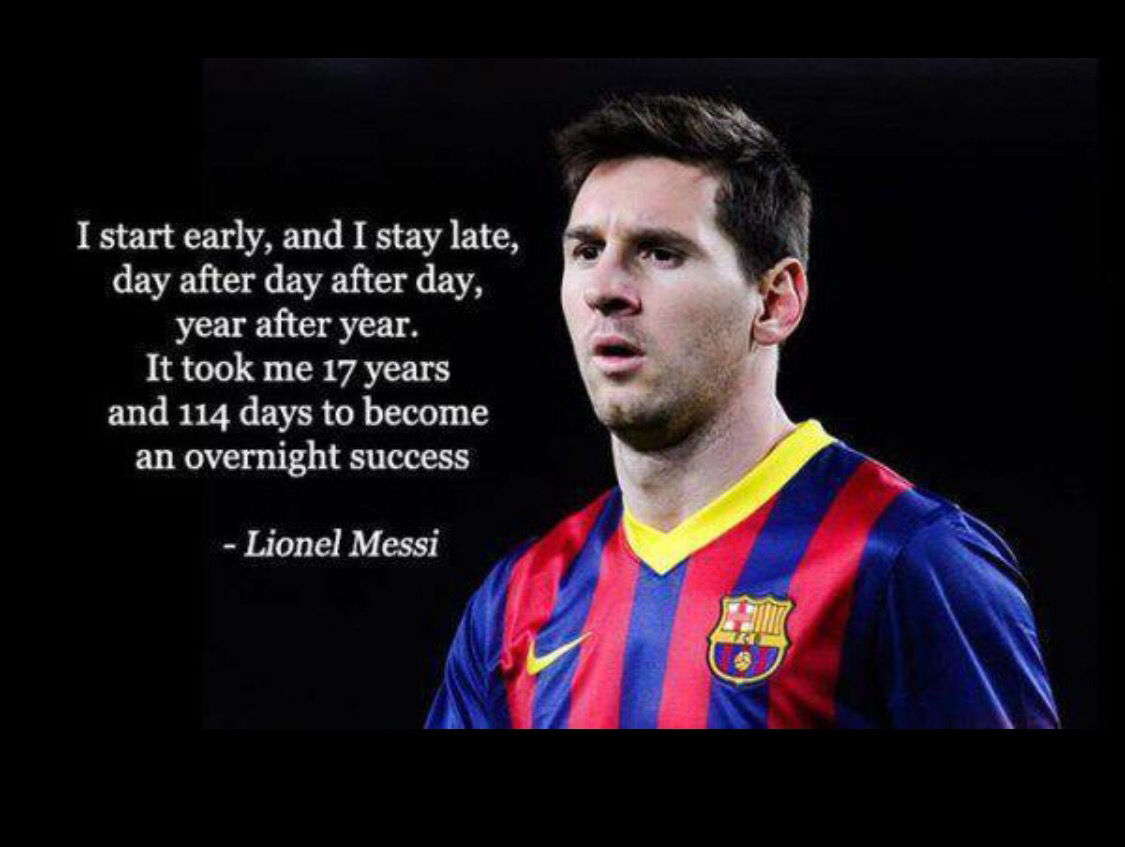 Good THE 20 BEST Lionel Messi MOTIVATIONAL QUOTES For Every Soccer Player |  Better Yourself, Get Motivated | Mulliganbrothers