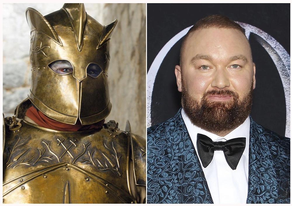 Hafþór júlíus björnsson in Game Of Thrones