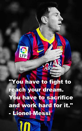 THE 20 BEST Lionel Messi MOTIVATIONAL QUOTES for every ...