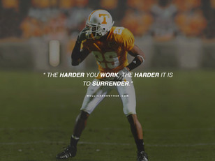 From tragedy to success. The story of Inky Johnson.