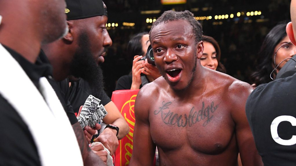 KSI won the fight on a split decision after Paul was deducted two points in the fourth round.