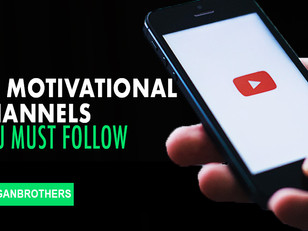 20 motivational Youtube Channels you Must follow