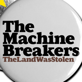 The Land was Stolen badge