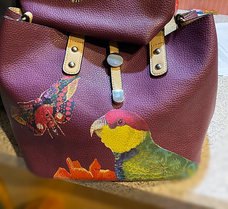 SOLD Upcycled Purse