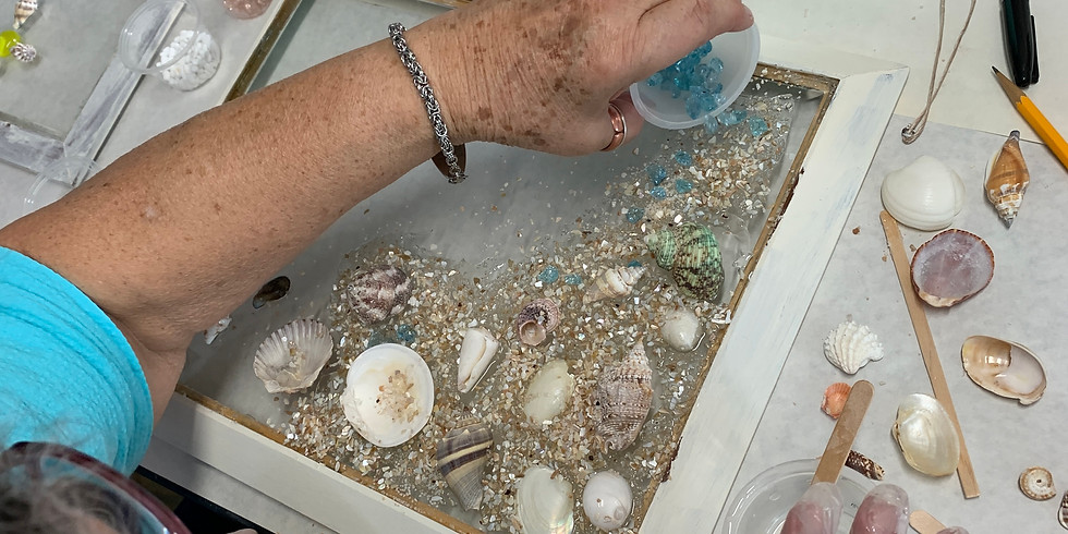 Resin Art with Holly