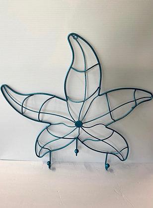 Metal Starfish Wall Hook