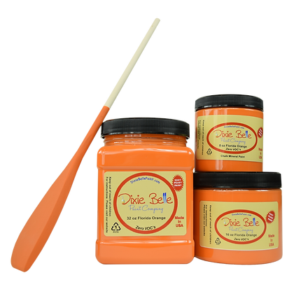 Florida Orange Chalk Mineral Paint