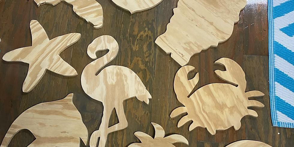Painting Wood Cutouts