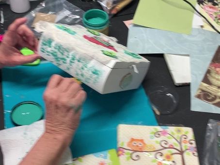 More Fun with Decoupage!