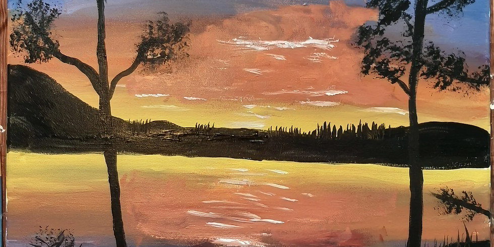 Sunset Painting with Dawn