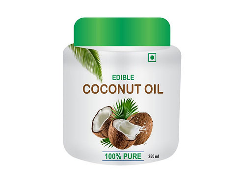 Edible Coconut Oil (250ml)