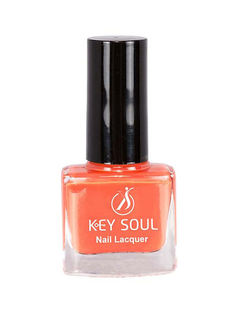 Keysoul Neon orange Nail Paint