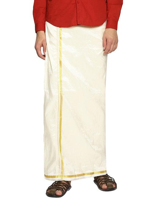Lungi White Color [100% Cotton]