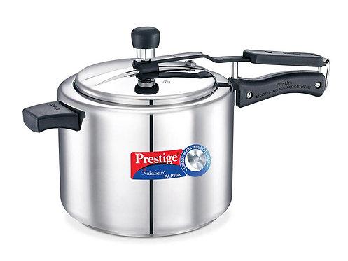Stainless steel prestige Nakshtra alpha 3 liter cooker