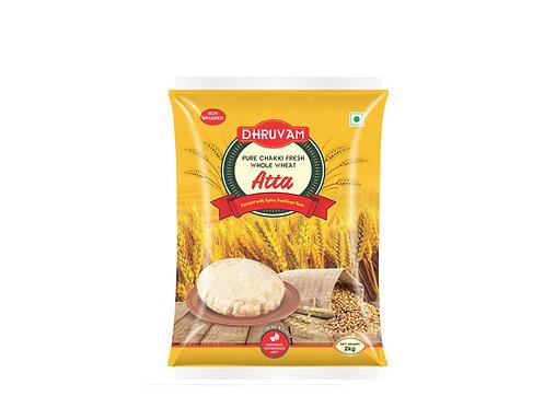 Dhruvam Chakki Fresh Atta 2 Kg