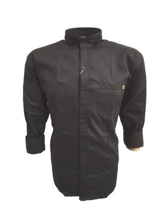 NC JAN J 709 2020-BLACK MENS CASUAL SHIRT