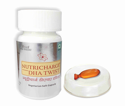 Nutricharge Dha Twist (100% Veg)