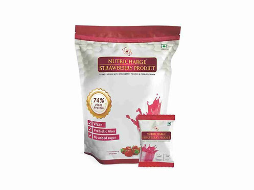 Nutricharge Strawberry Prodiet Doy Pack