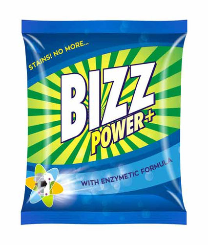 Bizz power plus washing Powder(500g)