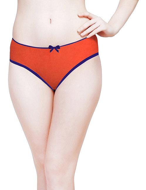 Plain Premium Panty - KS040 - Orange