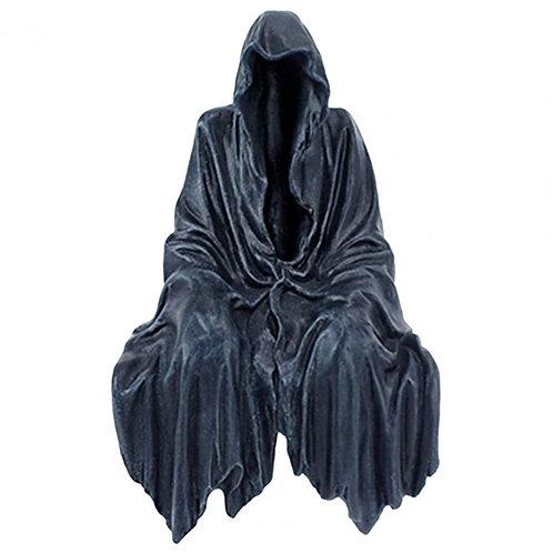 Horror Nightcrawler Statue Gothic Delicate Figurine Resin Sitting Reaper Statue