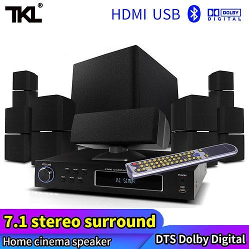 TKL 7.1 Home Theatre System USB Bluetooth Professional Audio Surround