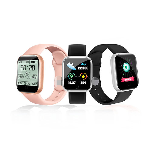 Dropshipping D20 Smart Watch Color Screen Fitness Tracker Smart Watch Y68