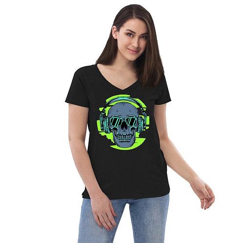 Women's recycled v-neck t-shirt