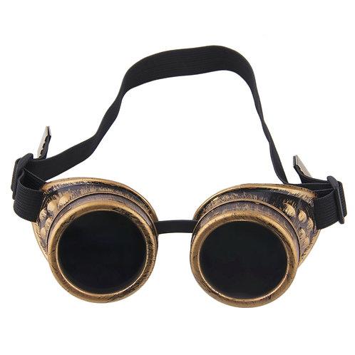 2019 Fashion Retro Steampunk Cyber Goggles Glasses Cyber Goggles Steampunk