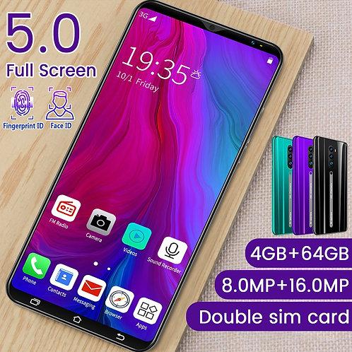 3G Smartphone 5.0 Inch Full Screen Android Hd Screen Smartphone Fingerprint