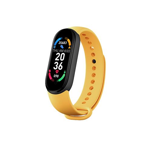 2021 Dropshipping Waterproof Health Smart Band Watch OEM M6 Smart Bracelet