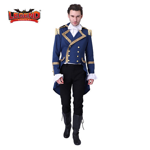Colonial Hamilton Colonial Military Cosplay Costume Musical Hamilton Cosplay