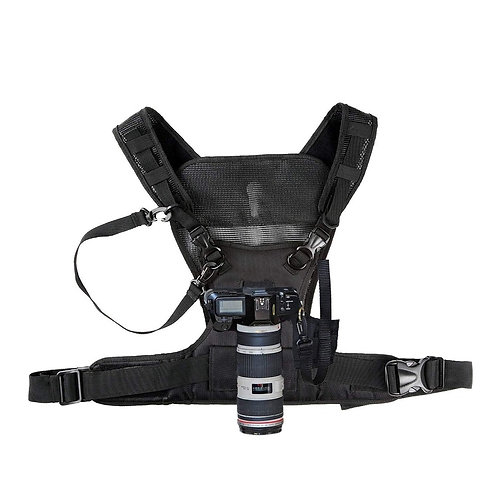 Nicama Camera Carrying Chest Harness Vest With Secure Straps for 1 Camera Canon