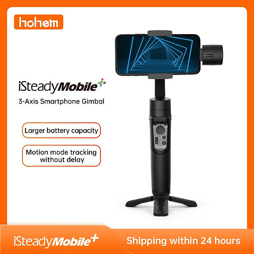 Hohem Smartphone Gimbal iSteady Mobile Plus 3-Axis Handheld Stabilizer