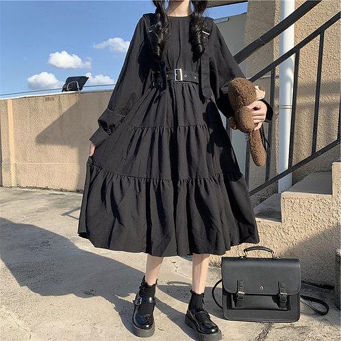 Punk Dress Goth Women Gothic Style Kawaii Dress Gothic Punk Mall Japanese