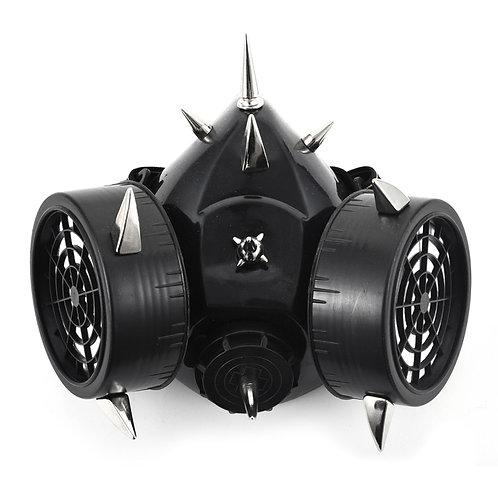 Steampunk Fashion Retro Rivets Gas Mask Respirator Cyber Gothic Cosplay
