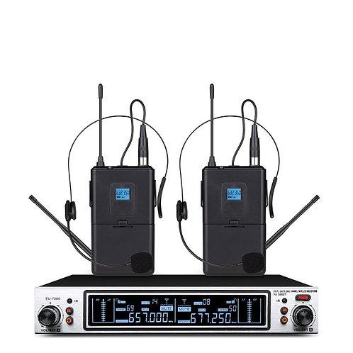 Wireless Karaoke Microphone Dynamic UHF Home Studio Recording for Computer