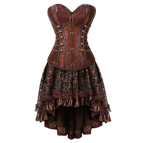 Victorian Bustier Dress Whic Clothing Plus Size Steampunk