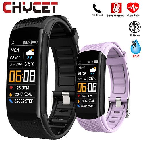 Smart Bracelet Watch Blood Pressure Monitor  Fitness Tracker Bracelet Smart