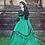 Thumbnail: Vintage Lace Slash Neck Long Victorian Dress Kawaii Girl Gothic Lolita