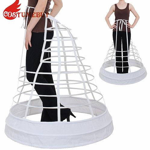 Costumebuy Gothic Vintage Ball Gown Dress Skirt Underskirt Cosplay Petticoat