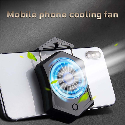 Mini Cooling Pad Smartphone Cooling Fan for Smartphone Gamepad Mobile With